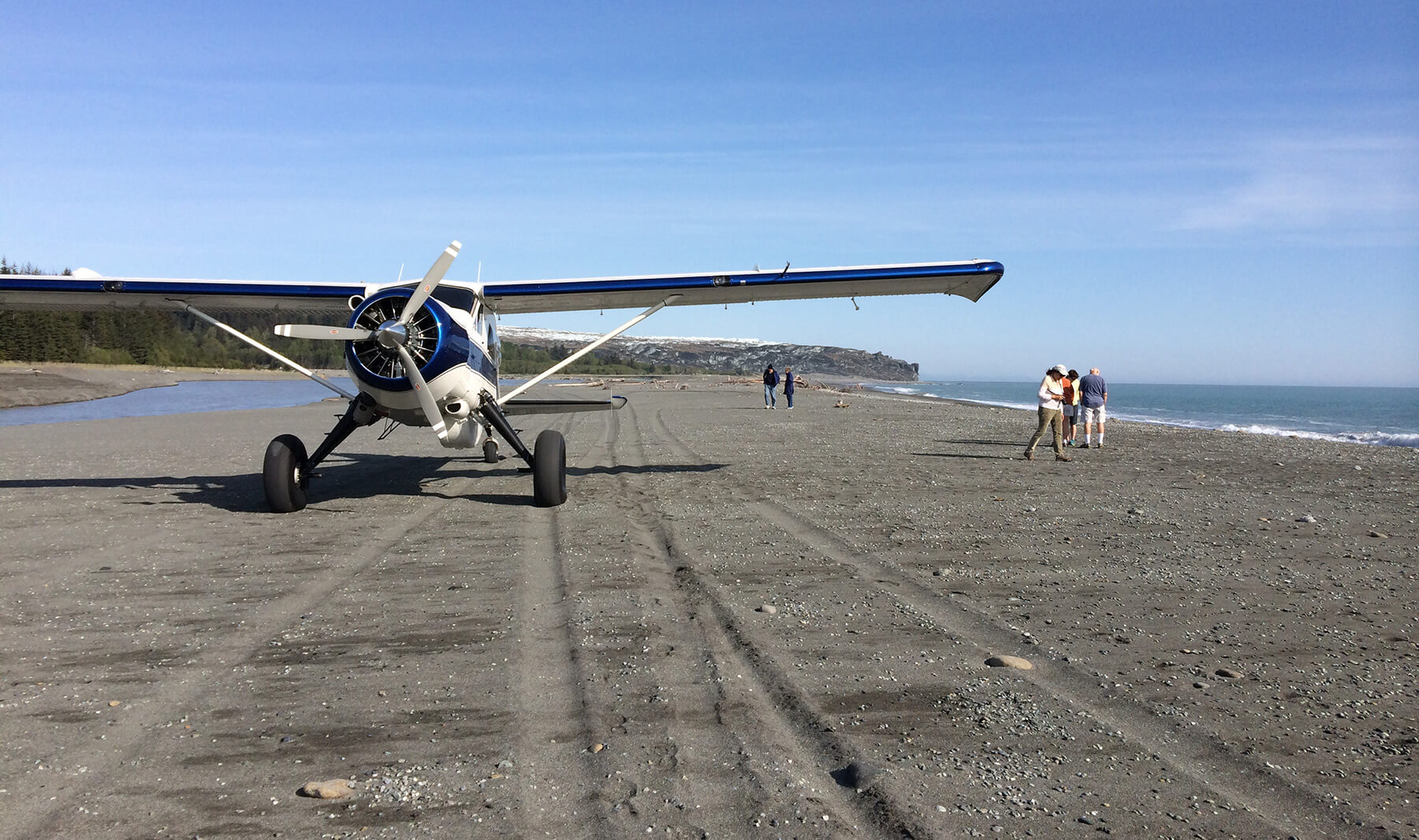 Beach landing flights