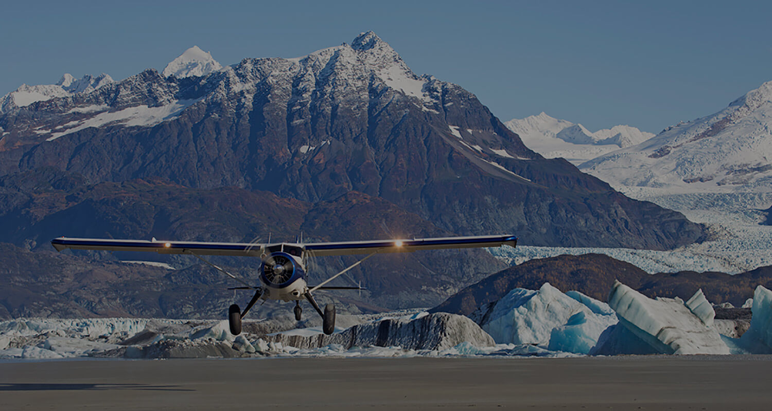 Glacier Bay flightseeing tours