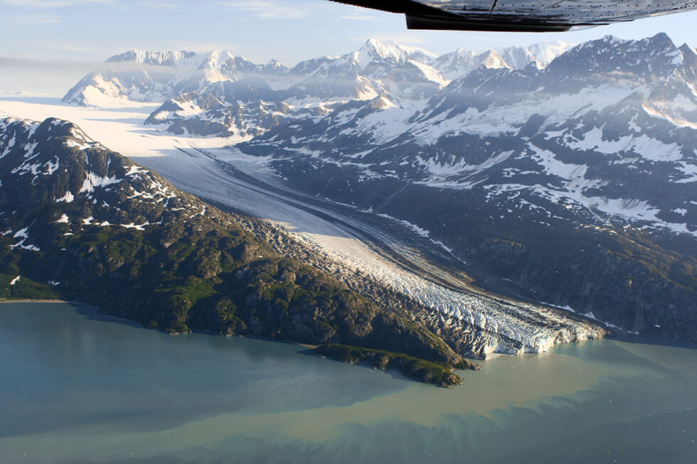 Lamplugh Glacier, West Arm of Glacier Bay.