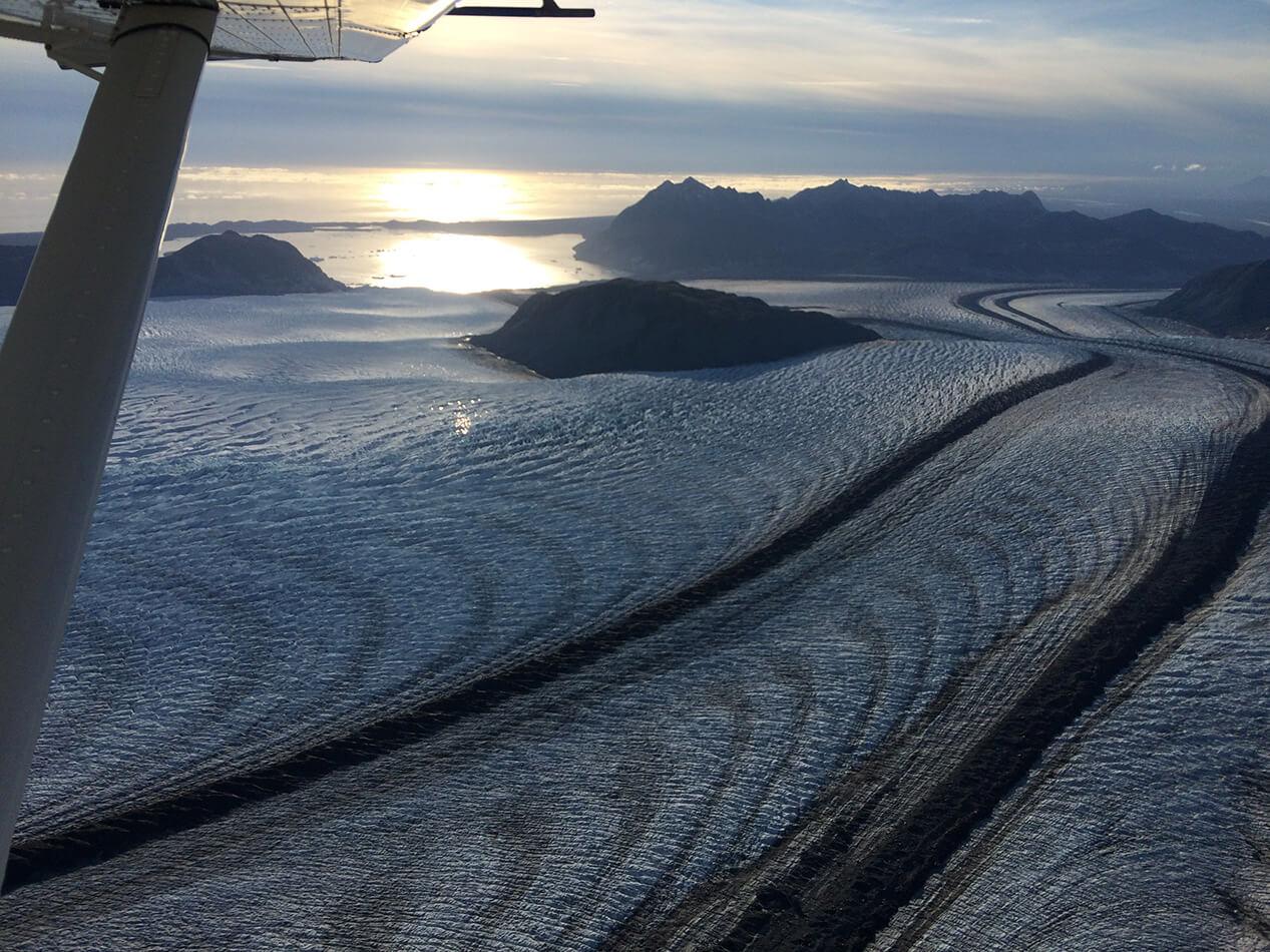 Ski plane glacier ski camps